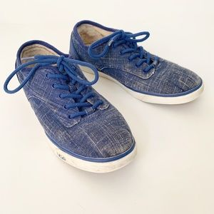 Ugg chambray distressed jean sneakers 7.5